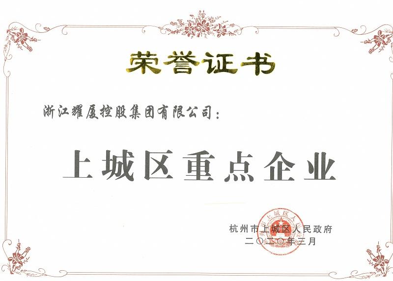 上城区重点企业