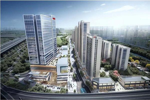 杭州万科彩虹天空之城项目